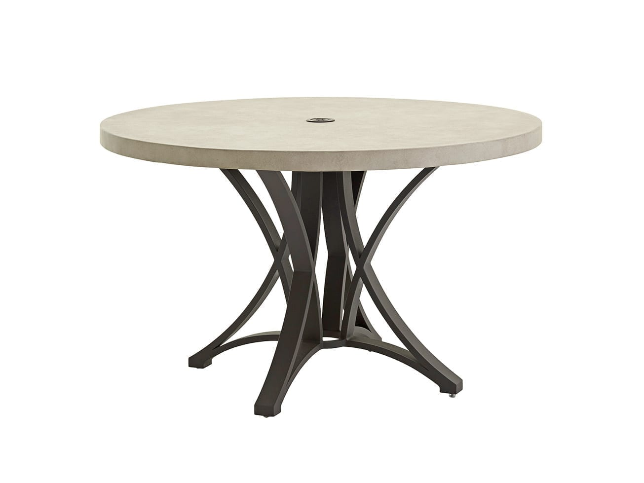 Cypress Point Ocean Terrace Dining Table With Weatherstone Top