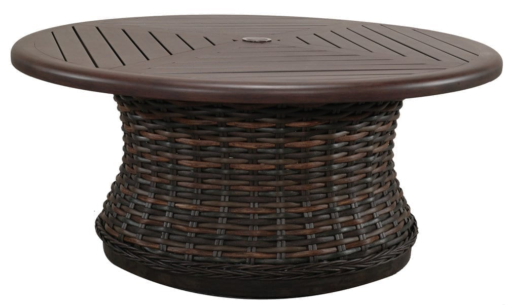 Catalina Round Woven Coffee Table Base